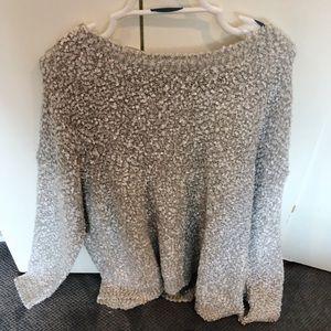 Inspire (New Look) Metallic Fuzzy Sweater
